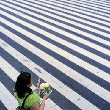 as we crosswalked