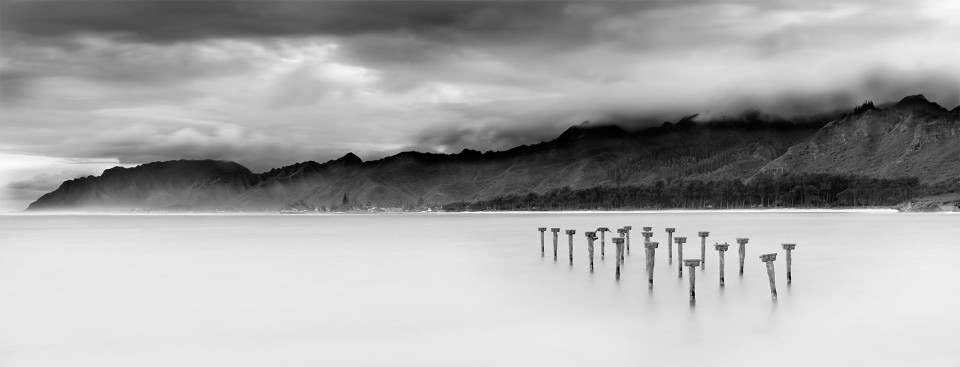 Black and White Oahu.