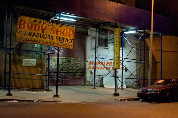 Night-scapes, Harlem New York