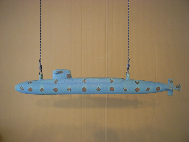 ceramic submarine