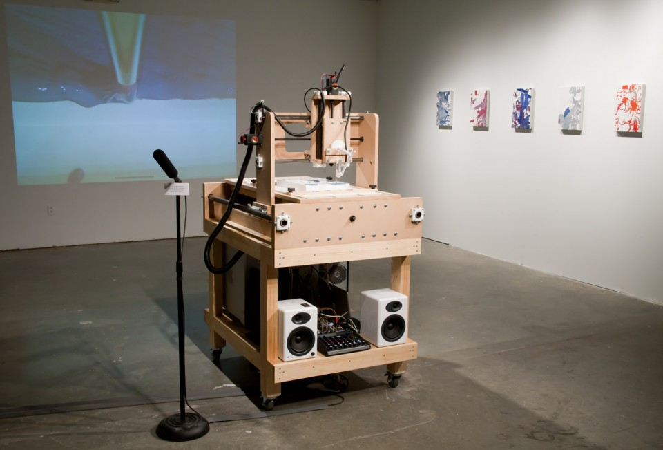 Interactive Robotic Painting Machine