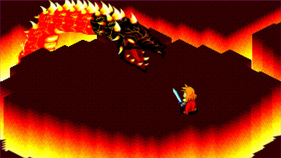 16-Bit Magma Dragon